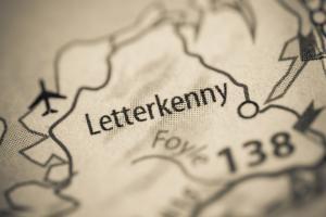 Letterkenny: Ausgangspunkt der Reise durch Donegal