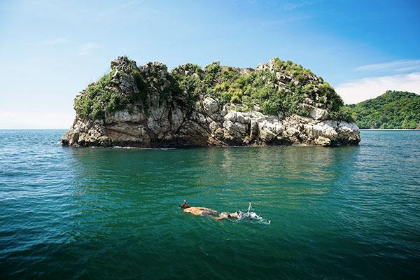 Schnorcheln an der Isla Tortuga