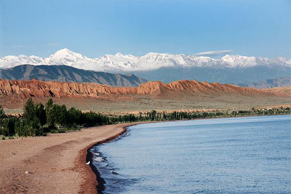 Issyk-Kul See, Kirgistan
