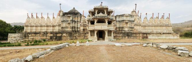 Jain Tempel in Ranakpur, Rajasthan, Indien