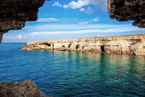 Höhlen im Kap Greco, Zypern