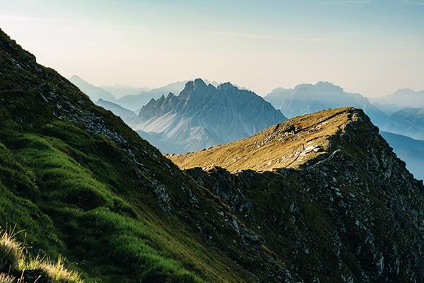 Aussicht vom Karnischen Höhenweg