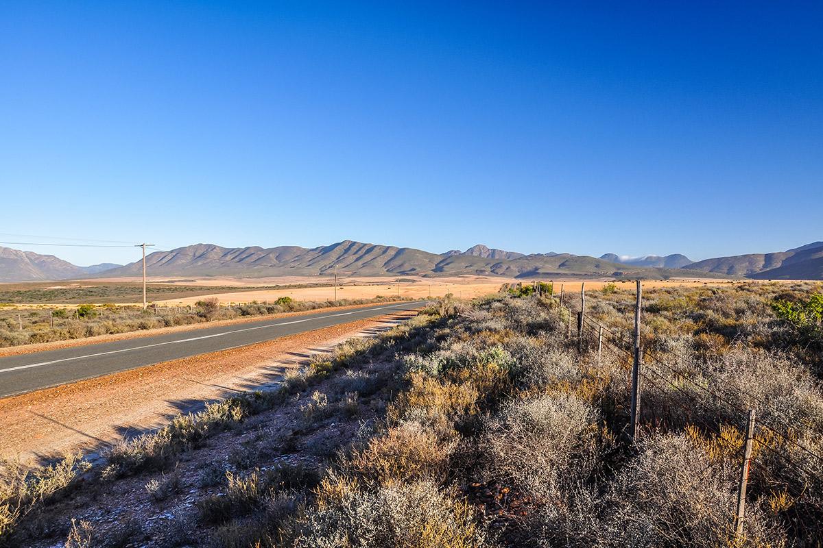 Route 62 in der Karoo