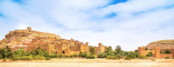 Kasbah Ait Ben Haddou in Marokko