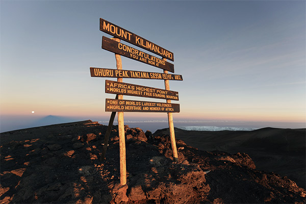 Kilimanjaro, Tansania