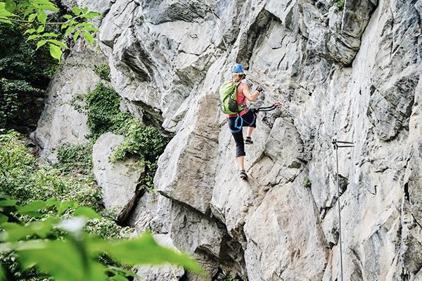 Klettersteig Tirol, Oesterreich