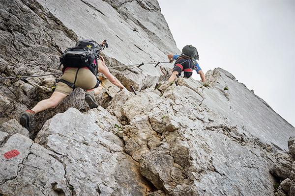 Klettersteig Wilder Kaiser, Osterreich