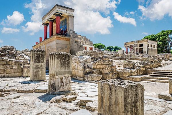 Palast Knossos, Kreta