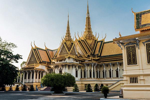 Königspalast Phnom Penh, Kambodscha