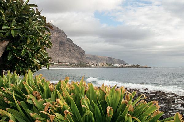 Küste des Valle Gran Rey, La Gomera