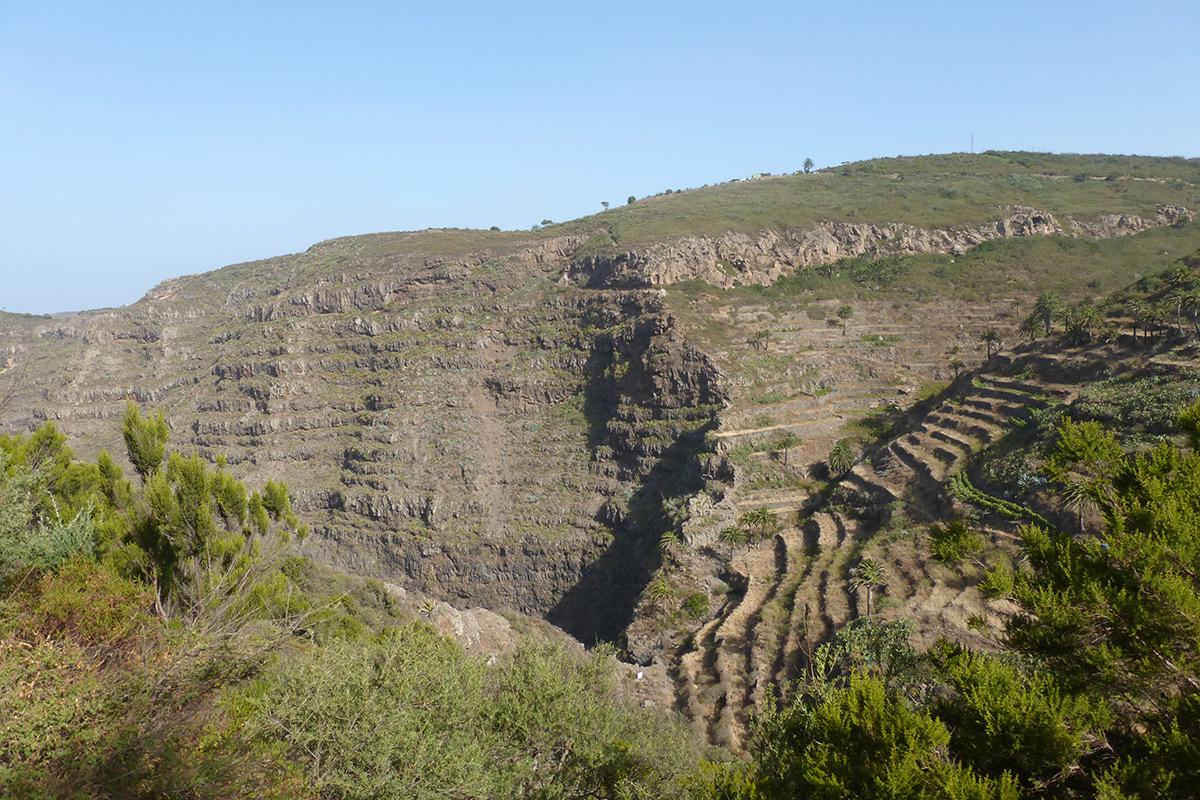 Am oberen Ende des Valle Gran Rey