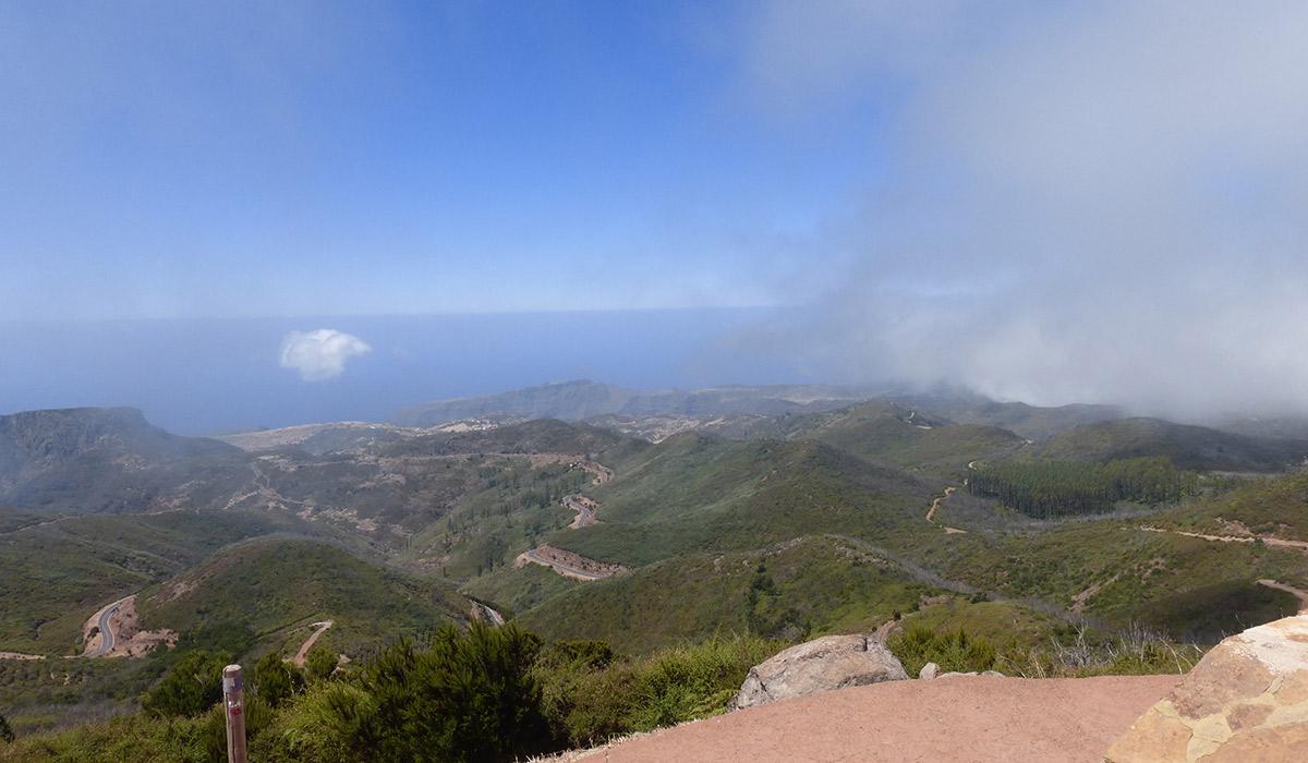 Auf dem Garajonay, dem höchsten Berg der Insel