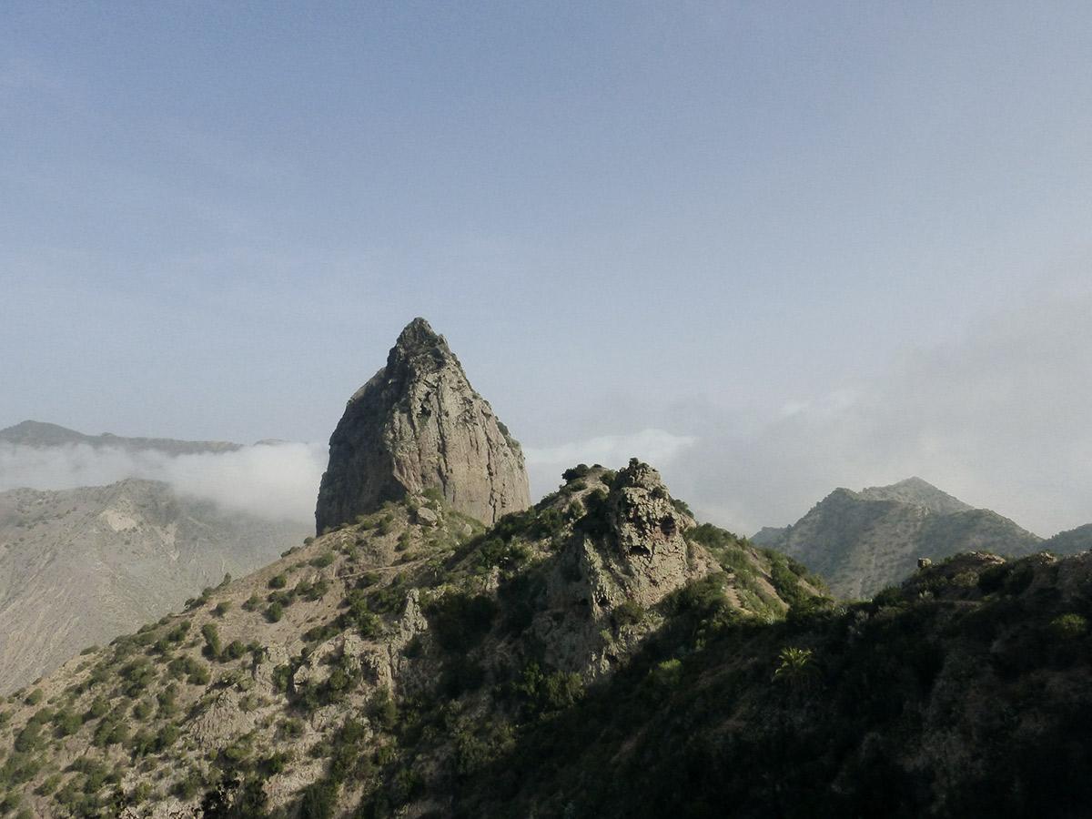 Der Roque Cano bei Vallehermoso