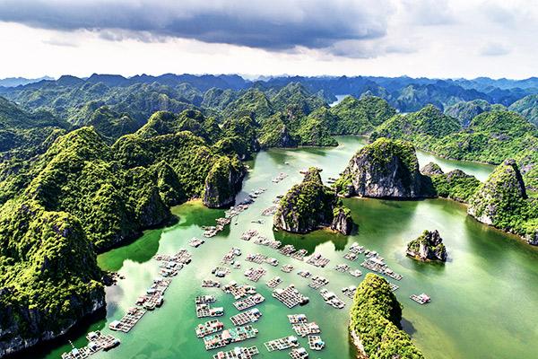 Lan Ha Bucht, Vietnam