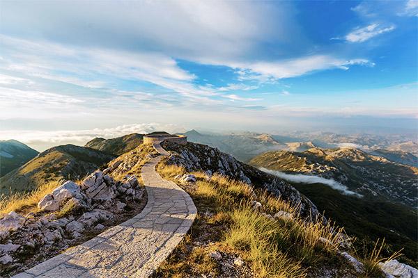 Mausoleum Lovcen Nationalpark, Montenegro
