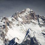 Schneebedeckte Manaslu Kette, Nepal