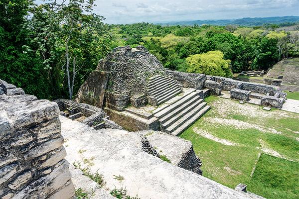 Maya Stätte Caracol, Belize