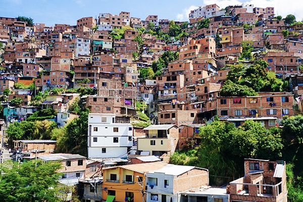 Medellín Slums, Kolumbien