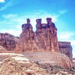 Atemberaubende Sand- und Stein-Gebilde im Arches Nationalpark. © Michael Hart