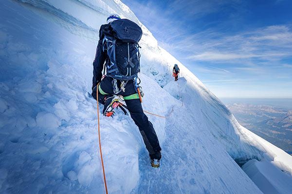 Hochtour am Mont Blanc