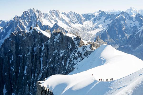 Mont Blanc Hochtouren, Frankreich
