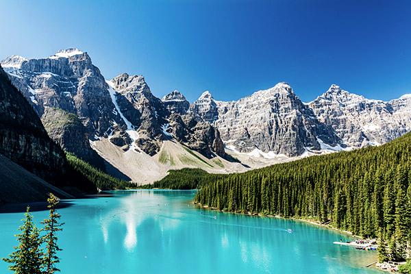 Moraine Lake im Banff Nationalpark