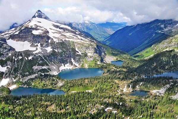 Landschaft im Mount Revelstoke Nationalpark, Kanada