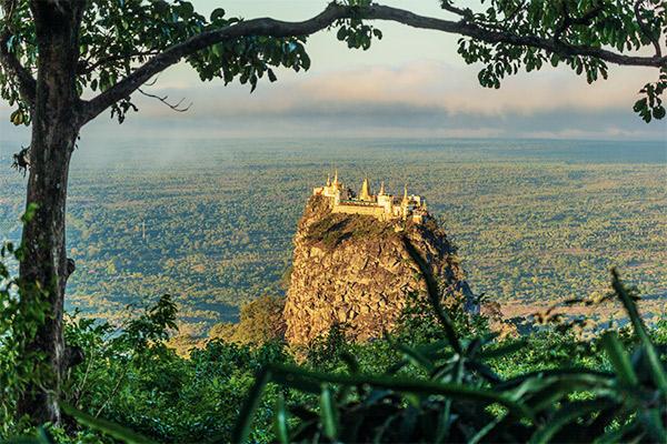 Mount Toung Kalat, Myanmar
