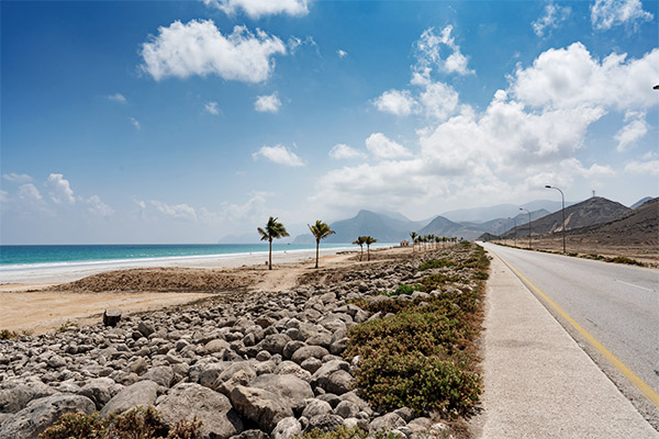 Mughsail Beach Salalah, Oman