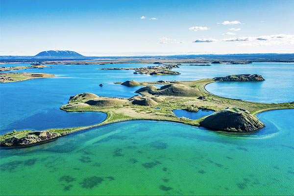 Myvatn Seenlandschaft Island