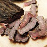 Aufgeschnittenes, geräuchertes Fleisch