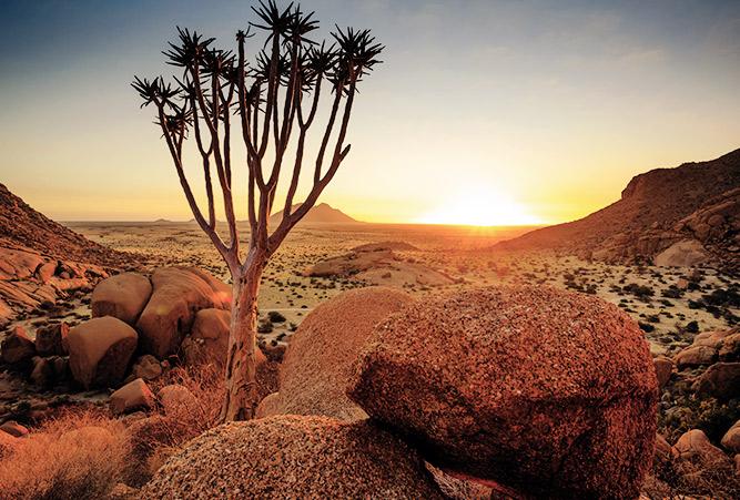 Namibia Landschaft Wüste