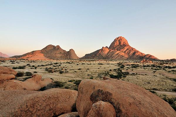 Namibias weite Landschaft