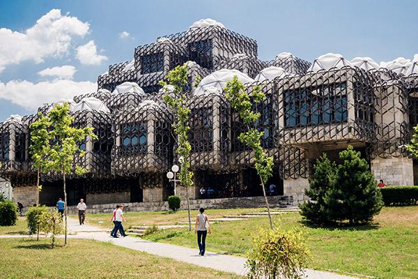 Nationalbibliothek Pristina, Kosovo