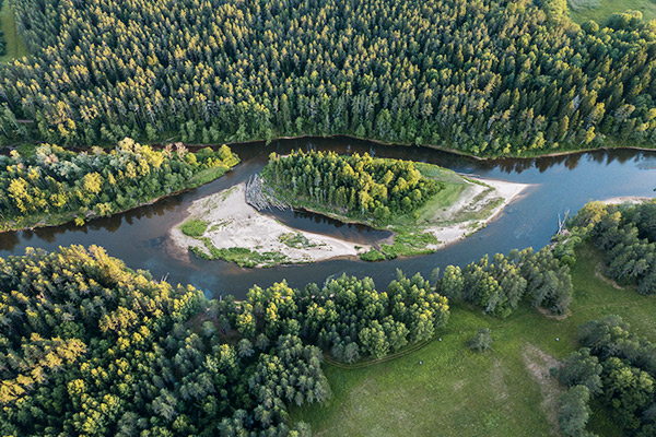 Nationalpark Gauja, Lettland