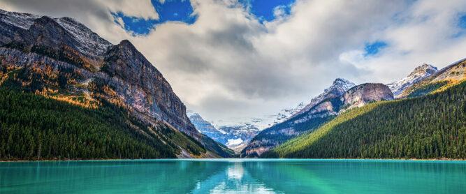 Lake Louise im Banff Nationalpark, Kanada