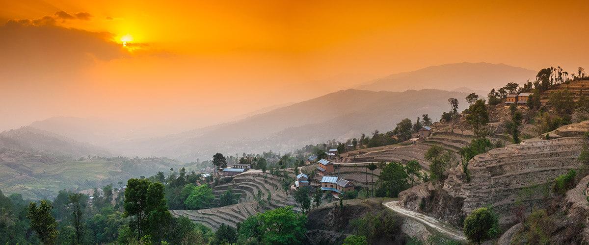 Nargakot im Kathmandutal