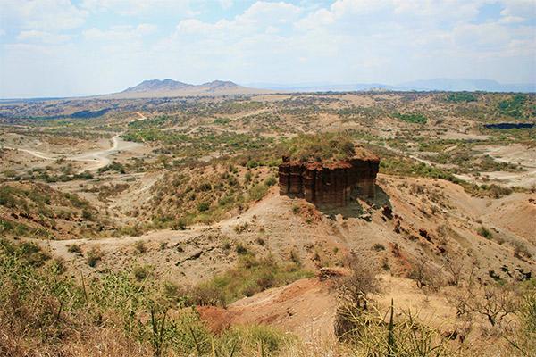 Olduvai Schlucht, Tansania