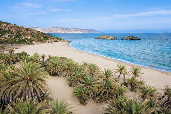Palmenstrand Vai, Kreta
