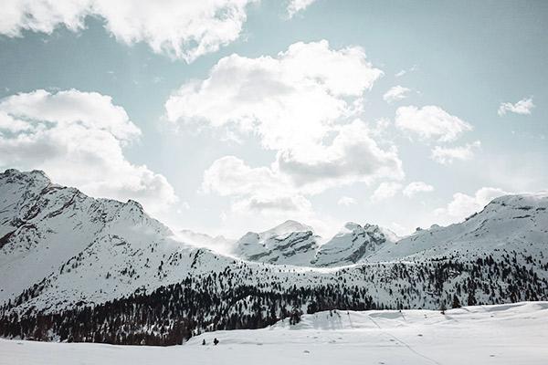 Bergkette, Fanesalm Dolomiten