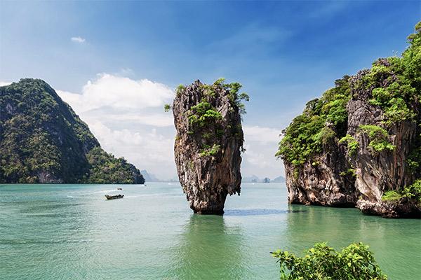 Felsformationen Phang Nga Bay, Thailand