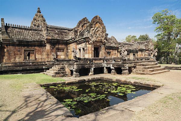 Khmer Tempel Phanom Rung, Thailand