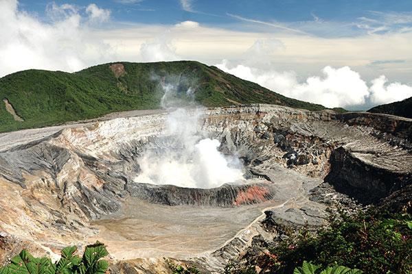 Poas Vulkan in Costa Rica