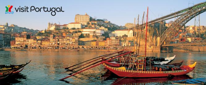 Das Altstadtviertel Ribeira in Porto