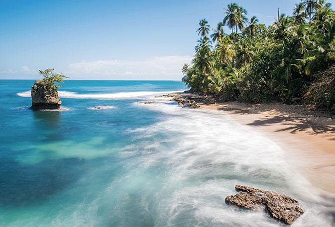 Strand von Puerto Viejo