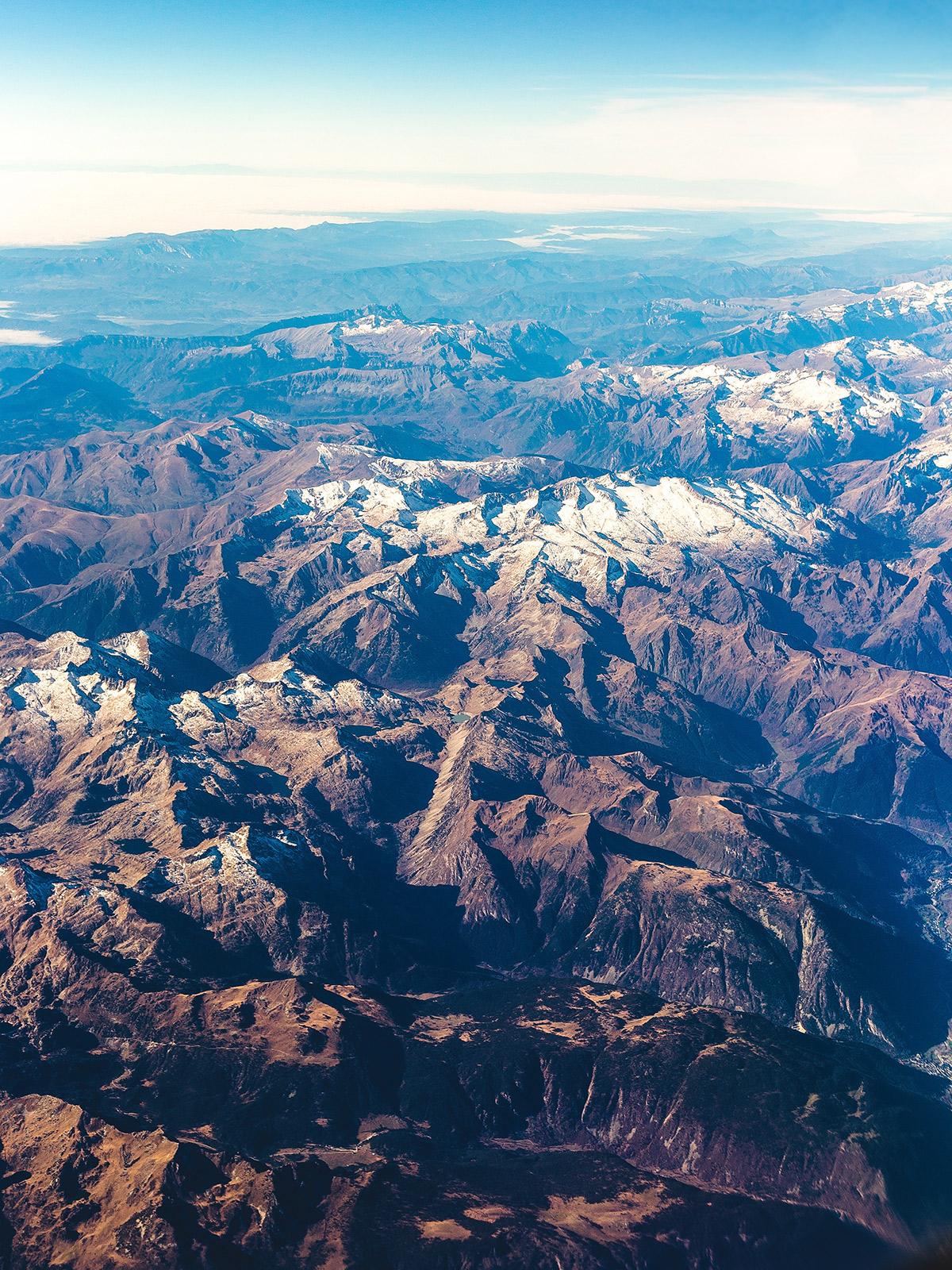 Die Pyrenäen Gebirgskette