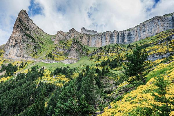 Pyrenäen, Nordspanien
