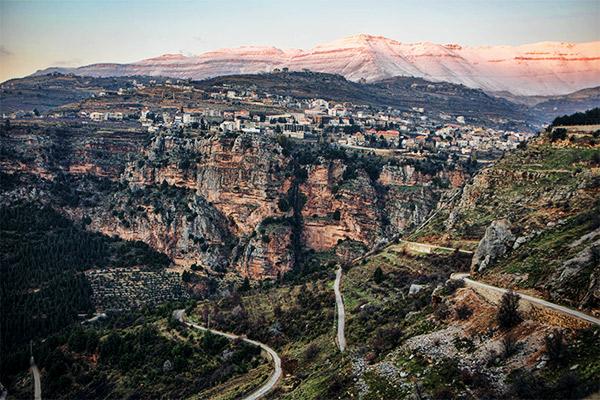 Qadisha-Tal, Libanon