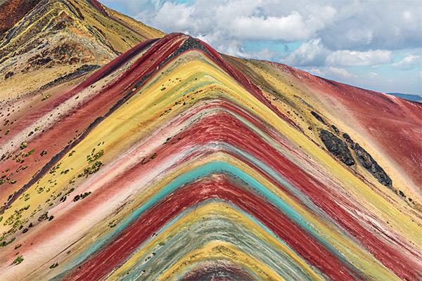 Regenbogenberge, Peru