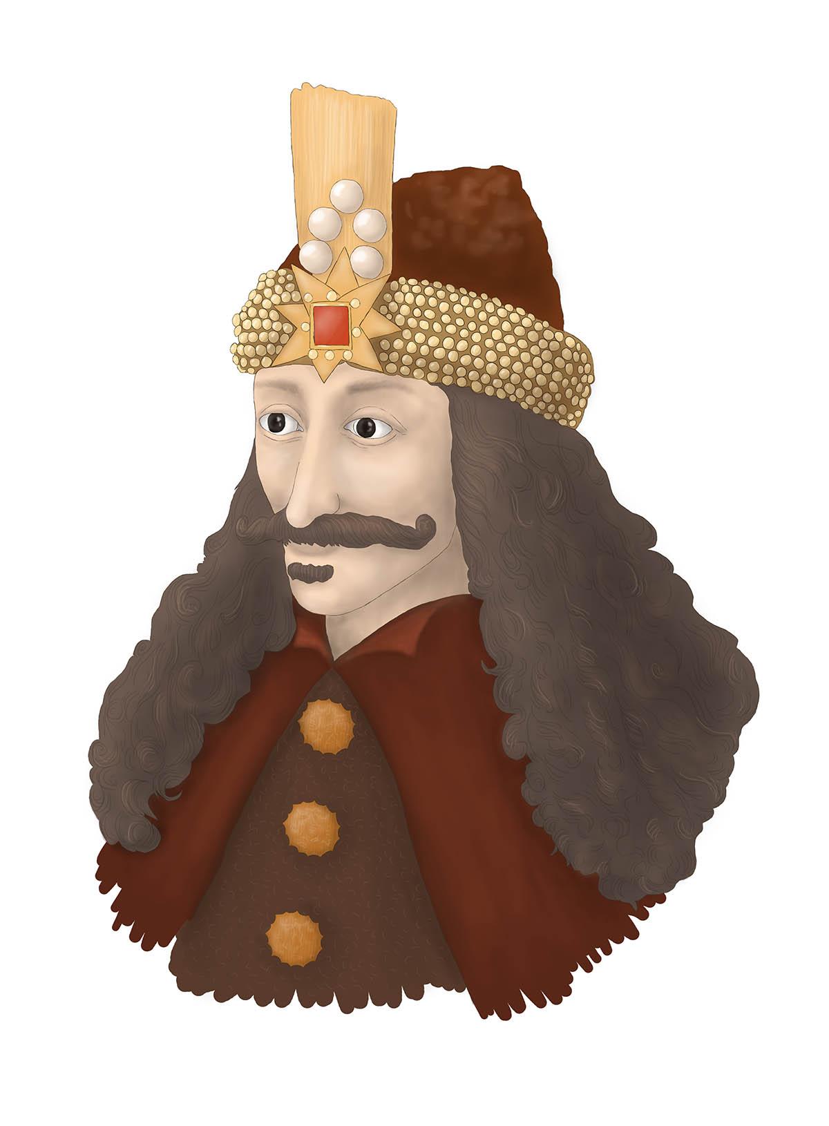 Portrait Vlad III.